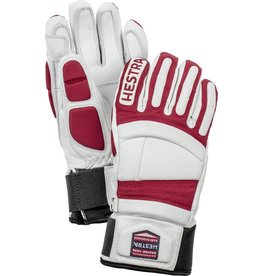 HESTRA HESTRA 2019 SKI GLOVE IMPACT RACING JR WHITE/RED