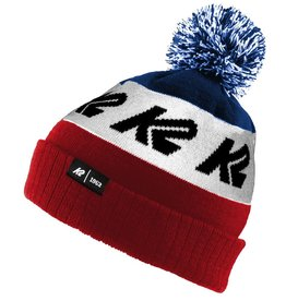 K2 SPORTS K2 BEANIE OLD SCHOOL RED/WHITE/BLUE O/S