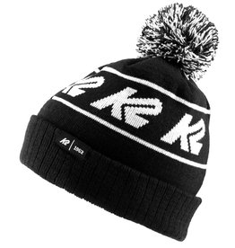K2 BEANIE OLD SCHOOL BLACK/WHITE O/S