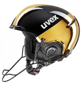 UVEX UVEX SKI HELMET JAKK+ SL BLACK GOLD CHROME