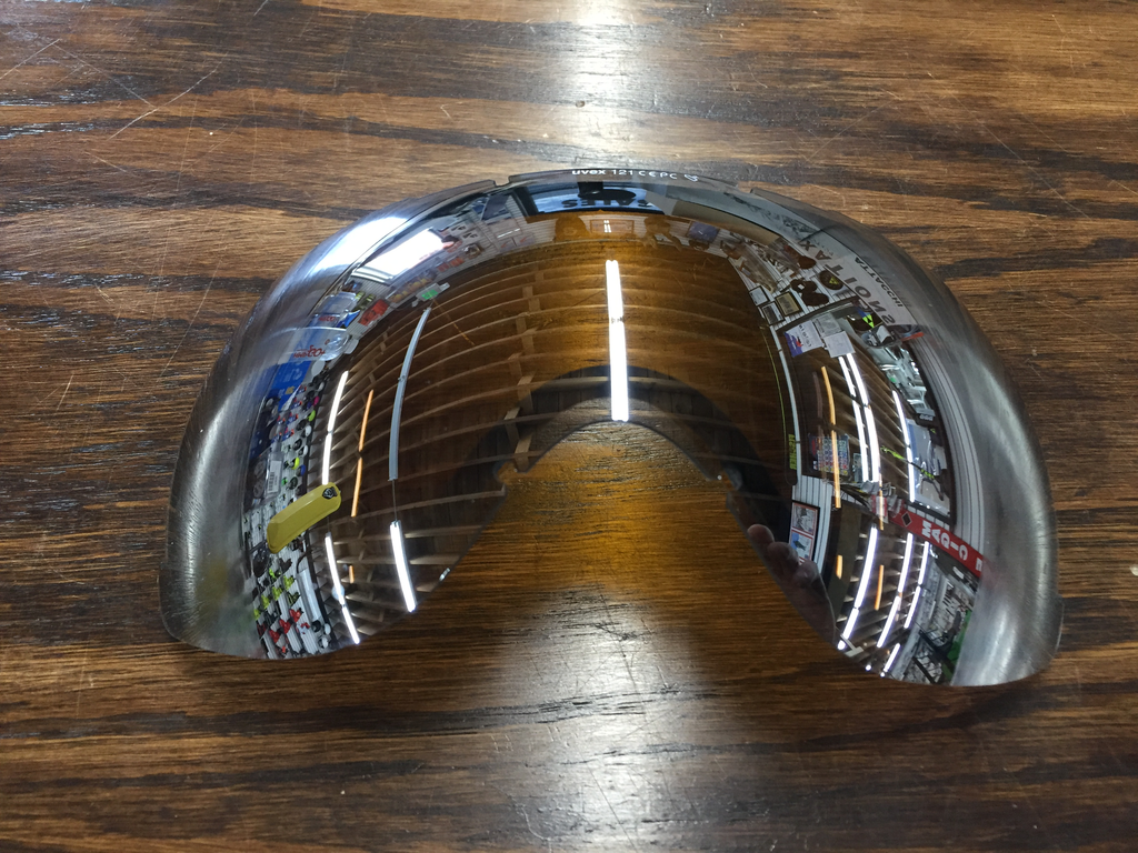 UVEX UVEX REPLACEMENT LENS DOWNHILL 2000 ESS MIRROR SILVER