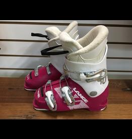 LANGE LANGE 2019 SKI BOOT STARLET 50 (MAGENTA-WHITE) USED