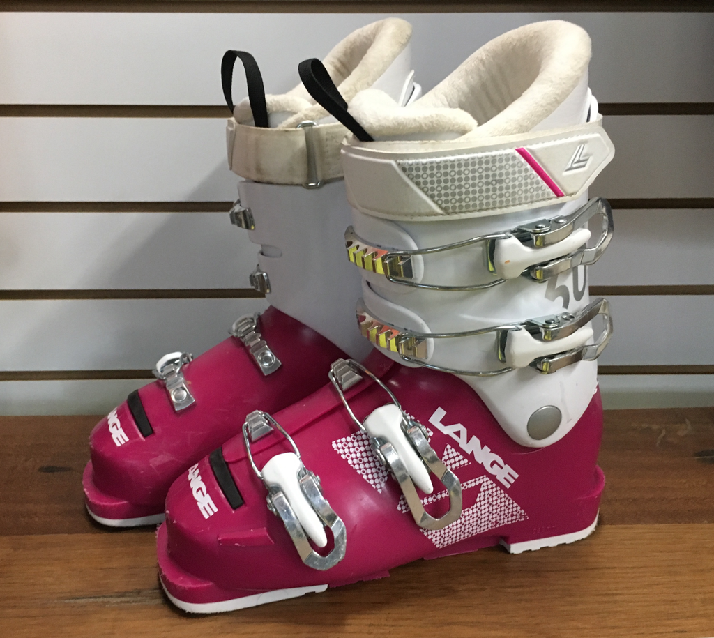 Used Ski Boots >> Lange 2019 Ski Boot Starlet 60 Magenta White Used