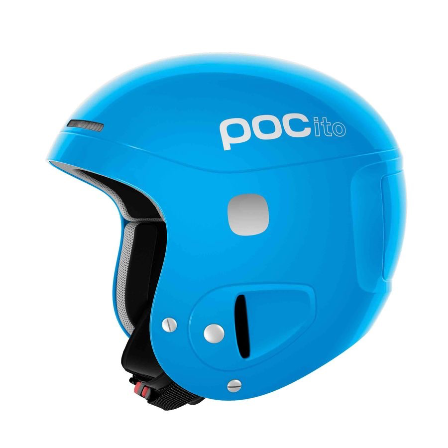 POC POC 2020 SKI HELMET POCITO SKULL ADJUSTABLE FLOURESCENT BLUE