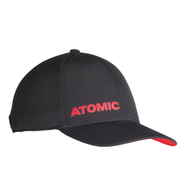ATOMIC ATOMIC HAT CAP ALPS QUIET BLACK/BRIGHT RED