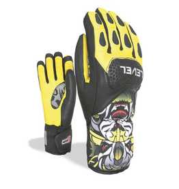 LEVEL LEVEL SKI GLOVE SQ JR CF YELLOW