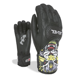 LEVEL LEVEL SKI GLOVE SQ JR CF PK BLACK