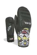 LEVEL LEVEL SKI GLOVE SQ JR CF MITT PK BLACK
