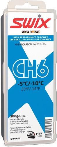 SWIX SWIX WAX CH6 BLUE, -5°C/-10°C 180G