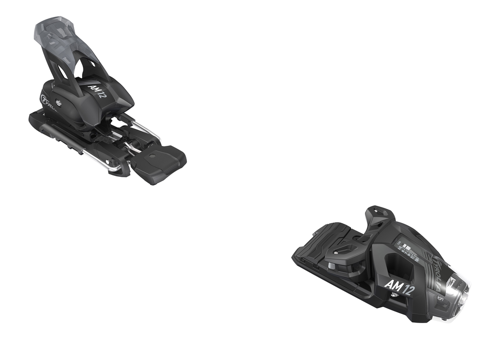 HEAD/TYROLIA HEAD TYROLIA SKI BINDING AM 12 GW MATTE BLACK 85MM BRAKE (D)