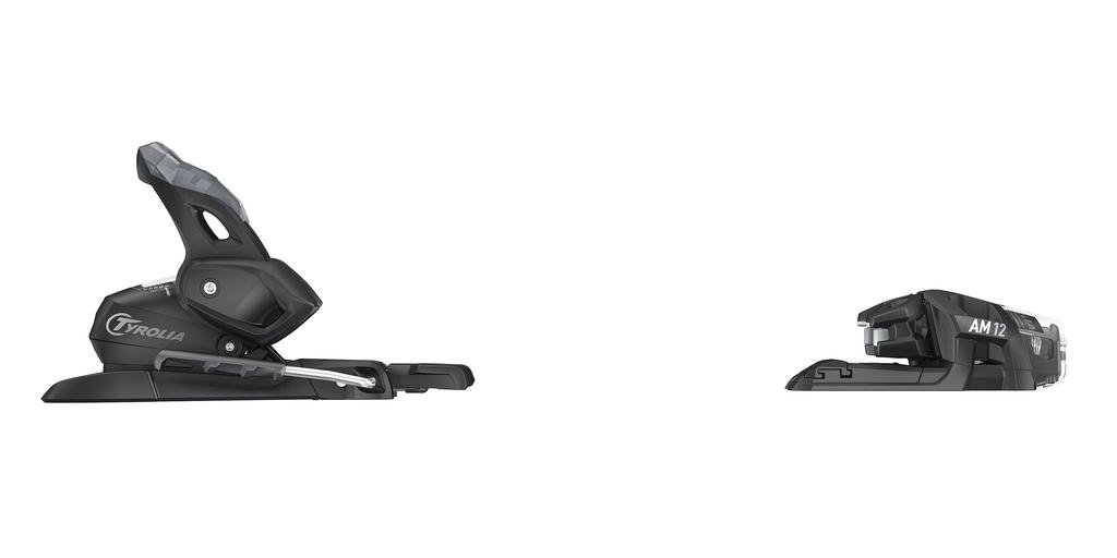 HEAD/TYROLIA HEAD 2020 SKI BINDING AM 12 GW MATTE BLACK 85MM BRAKE (D)