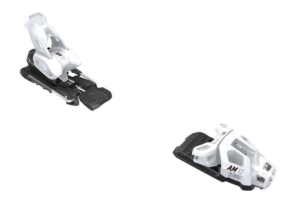 HEAD/TYROLIA HEAD TYROLIA SKI BINDING AM 12 GW MATTE WHITE 110MM BRAKE (D)