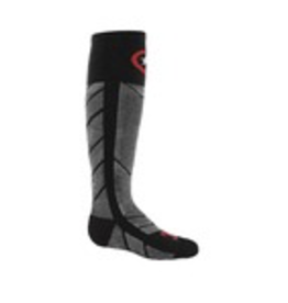 FARM TO FEET FARM TO FEET SKI SOCK KID'S WILSON ULTRALIGHT BLACK