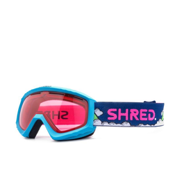 SHRED/SLYTECH SHRED 2020 GOGGLE MINI NEEDSMORESNOW-RUBY (VLT34%)