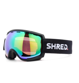 SHRED/SLYTECH SHRED 2020 SKI GOGGLE RARIFY BLACK-CBL PLASMA MIRROR (VLT 15% + CBL SKY MIRROR (VLT45%)