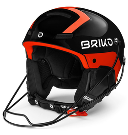 BRIKO BRIKO 2020 SKI HELMET SLALOM BACK ORANGE FLUO