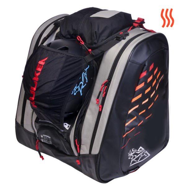 KULKEA KULKEA HEATED BOOT BAG THERMAL TREKKER COOL GREY/BLACK/RED