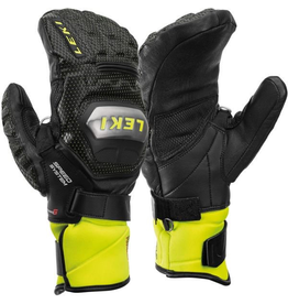 LEKI LEKI SKI GLOVE WC RACE TI S SPEED SYSTEM MITT BLACK/LEMON