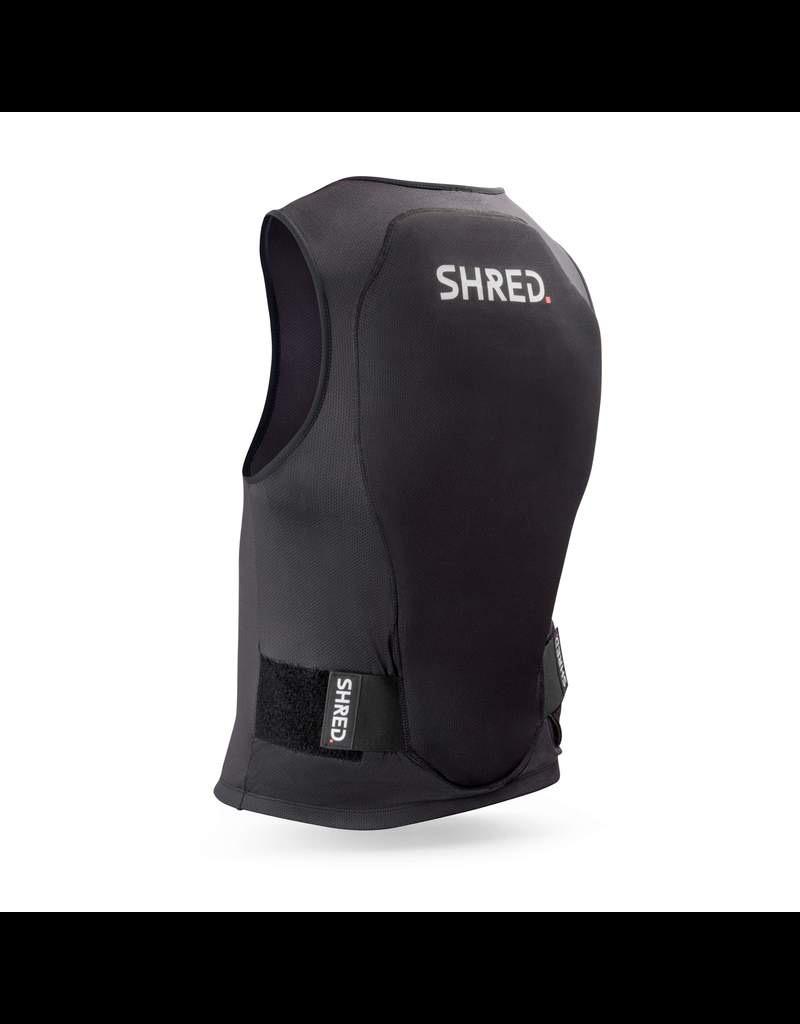 SHRED/SLYTECH SHRED BACK GUARD FLEXI BACK PROTECTOR VEST MINI BLACK