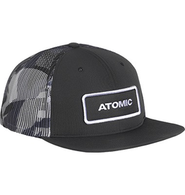 ATOMIC ATOMIC HAT CAP ALPS TRUCKER WHITE