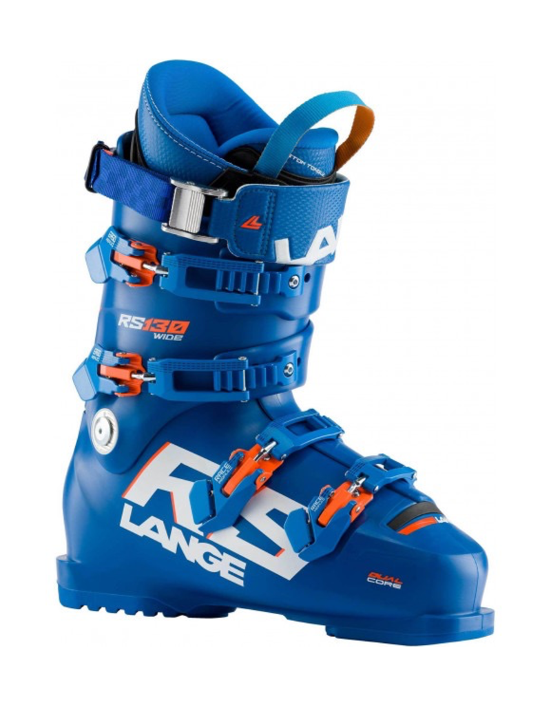LANGE LANGE 2021 SKI BOOT RS 130 WIDE (POWER BLUE) 100MM