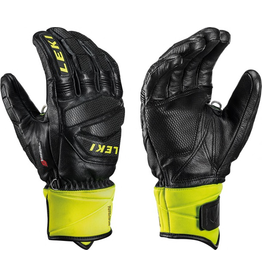 LEKI LEKI SKI GLOVE WC RACE DH S BLACK/LEMON