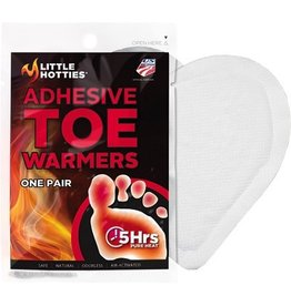 LITTLE HOTTIES LITTLE HOTTIES ADHESIVE TOE WARMERS ONE PAIR