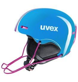 UVEX UVEX SKI HELMET HLMT 5 RACE CYAN-PINK