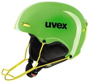 UVEX UVEX SKI HELMET HLMT 5 RACE LIGHTGREEN-YELLOW