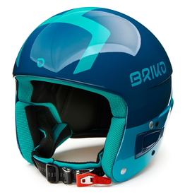 BRIKO BRIKO 2020 SKI HELMET VULCANO FIS 6.8 MULTI IMPACT SHINY BLUE LIGHT BLUE