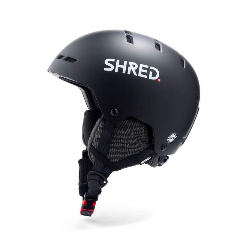 SHRED/SLYTECH SHRED 2020 SKI HELMET TOTALITY NOSHOCK BLACK