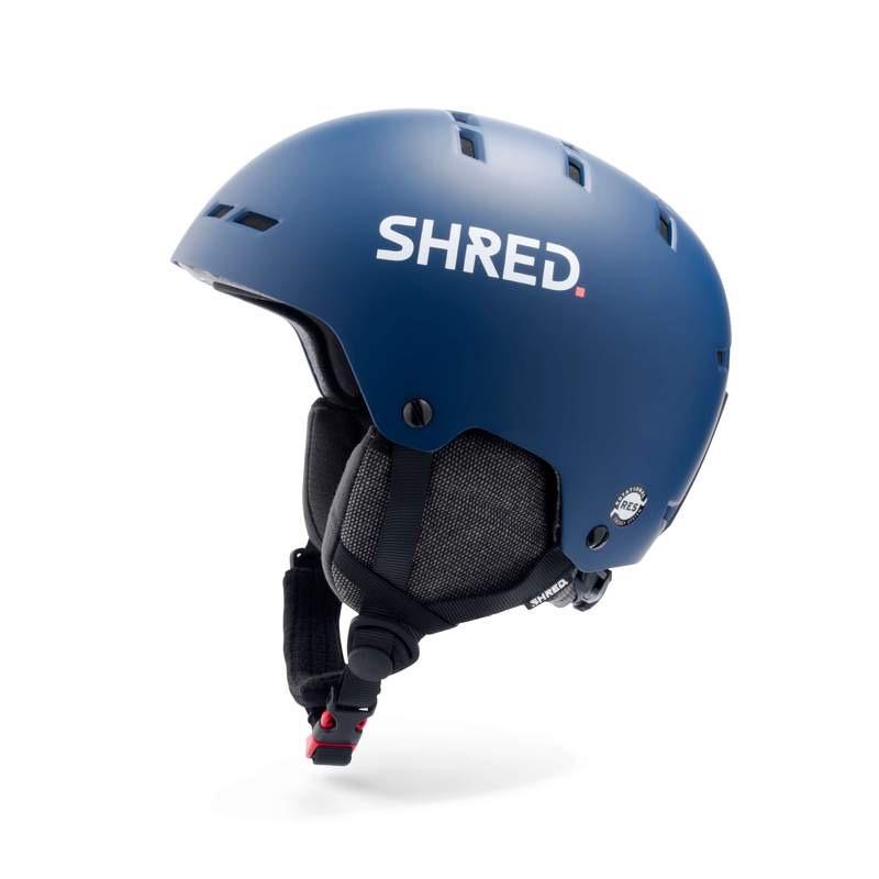 SHRED/SLYTECH SHRED 2020 SKI HELMET TOTALITY NOSHOCK NAVY