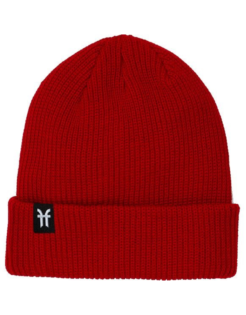 FACTION FACTION FISHERMAN BEANIE RED OS