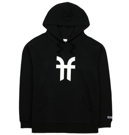 FACTION FACTION HOODIE LOGO BLACK