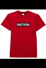 FACTION FACTION T-SHIRT LOGO RED