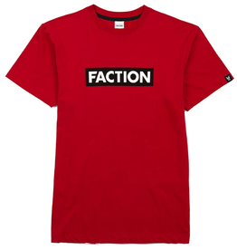 FACTION FACTION T-SHIRT LOGO RED