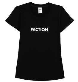 FACTION FACTION T-SHIRT LOGO W BLACK