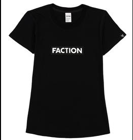 FACTION FACTION T-SHIRT LOGO W BLACK
