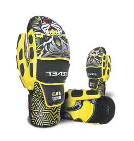 LEVEL LEVEL SKI GLOVE WORLD CUP CF MITT YELLOW