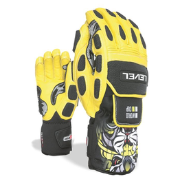 LEVEL LEVEL SKI GLOVE WORLD CUP CF GLOVE YELLOW