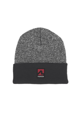 MARKER MARKER BEANIE BLACK HEATHER GREY
