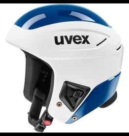 UVEX UVEX SKI HELMET RACE + FIS WHITE/BLUE
