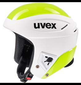 UVEX UVEX 2020 SKI HELMET RACE + FIS WHITE/LIME