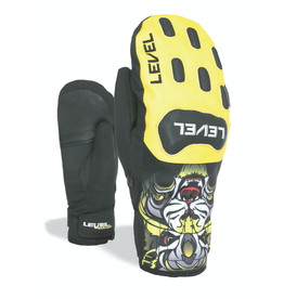 LEVEL LEVEL SKI GLOVE RACE JR. MITT YELLOW