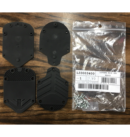 ATOMIC ATOMIC/SALOMON TOES & HEELS 4MM BLACK X-MAX