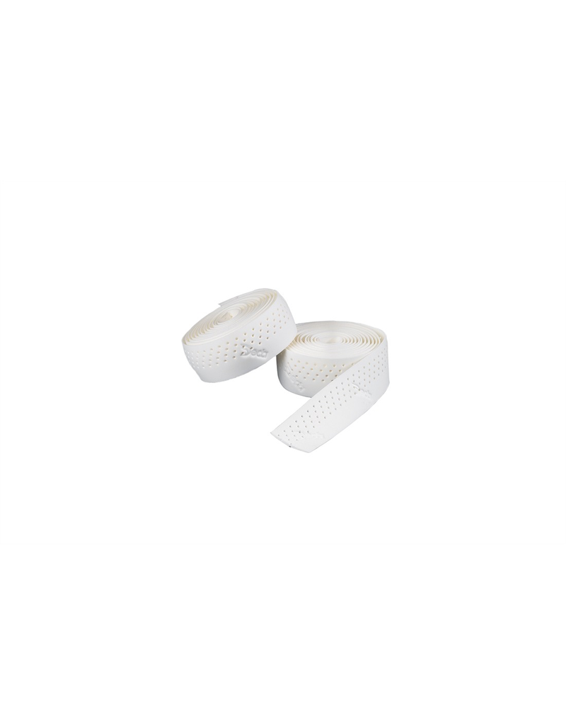 DEDA DEDA HANDLEBAR TAPE PERFORATED WHITE