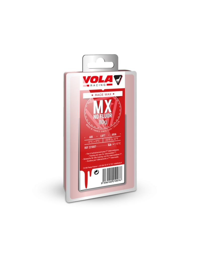 VOLA VOLA SKI WAX MX RED 80g
