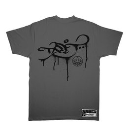 TALL T PRODUCTIONS TALL T PRODUCTION DRIP LOGO DARK GREY/BLACK