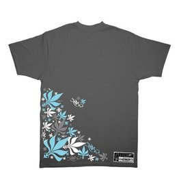 TALL T PRODUCTIONS TALL T PRODUCTION THROWBACK LEAF GREY/SKY BLUE