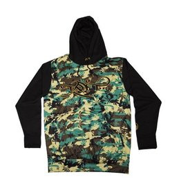 TALL T PRODUCTIONS TALL T PRODUCTION LOGO HOODIE CAMO/BLACK